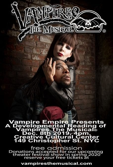 Vampires The Musical ® December 8, 2019 in New York