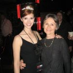 ulie and Mom at the afterparty